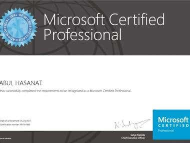 Microsoft Certified Programmer