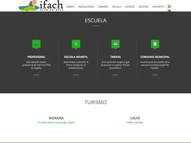 Web Golf Ifach