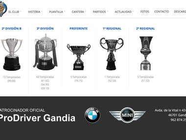 Web Club futbol Gandia