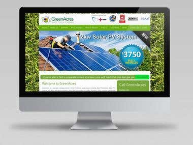 GreenAcres Joomla website
