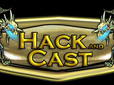 Logos for Hack and Cast