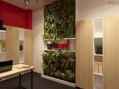 "Interior Design advertising agency ""WIZARD"""