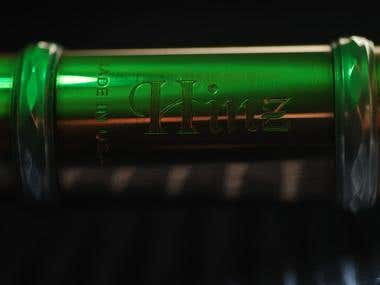 Dave Hinz's Gold-plated flute