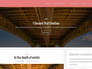 Brood Wordpress theme