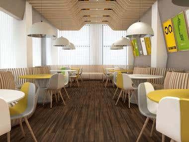 Eco Fast Food Cafe