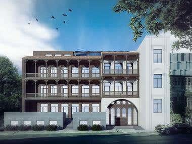 Orbeliani Hotel Reconstruction
