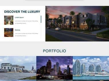 Real Estate - Current Ongoing Project Design