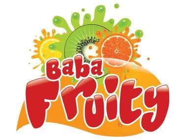 Baba Fruit logo