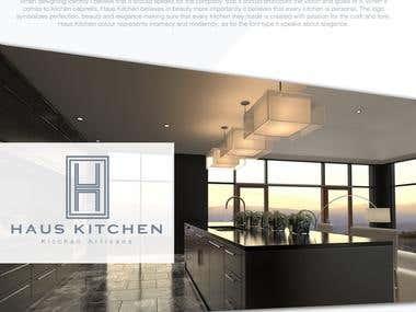 Haus Kitchen branding