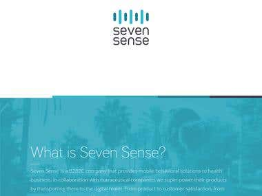 Seven Sense mHealth Behavioral Solutions