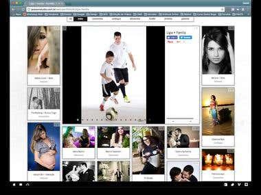 WebSite Jackson Fotografia em WordPress