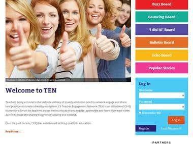 Website Design and Development using Wordpress