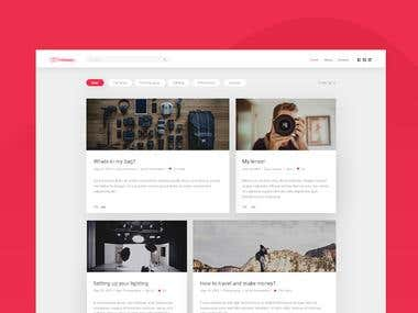 Website design - Nolan Bart