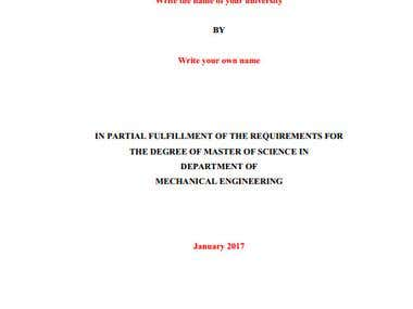 Design of reciprocating compressor Thesis