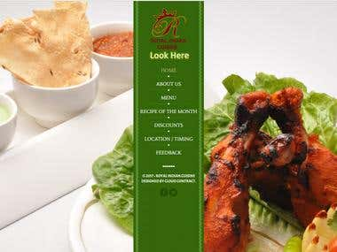 WEBSITIE - Restaurant