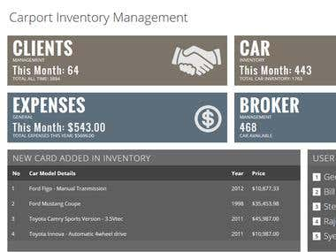 WEBSITE - Inventory Management