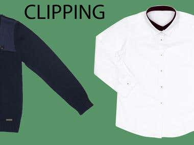 CLIPPING & BACKGROUND REMOVAL FOR E-COMMERCE