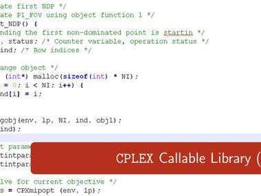 CPLEX Callable Library