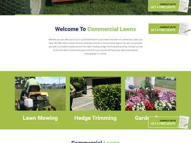 Company website (WordPress Theme)