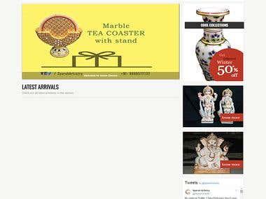 Sparsh Artistry - E-Commerce