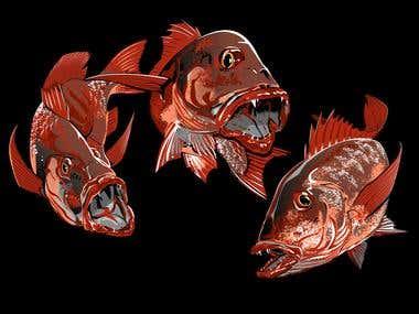 3 MJ Fish