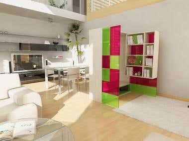 Bookcase Concept