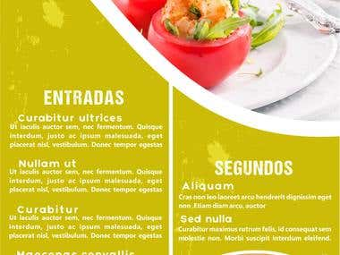 4to diseño de menu