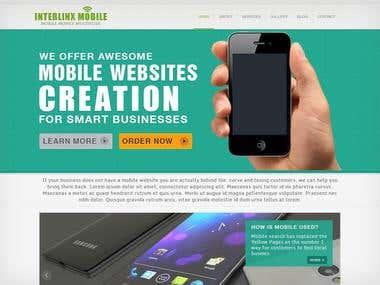 Interlink Mobile Website