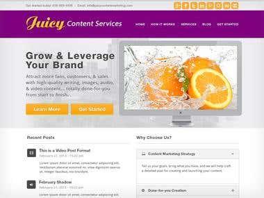 Juicy Content Website