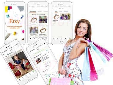 Etsy(Shopping App)
