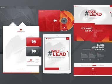 Logo design and corporate identity rollout