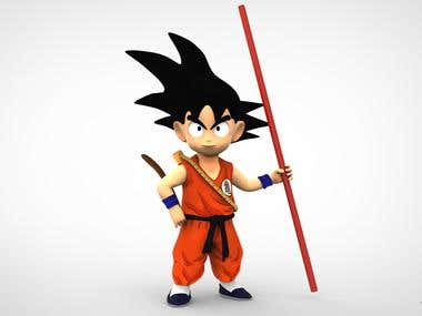Cartoon - Goku