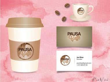 Pausa Cafe - Logo design