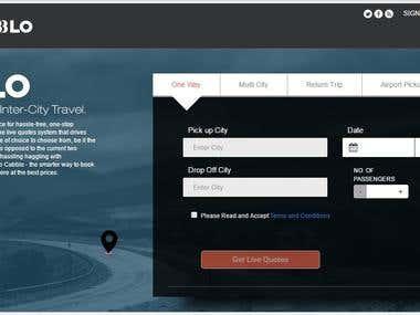 Manual Testing of Website: Cabblo