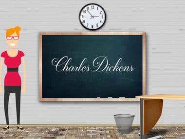 "Video institucional para ""Charles Dickens School of English"""