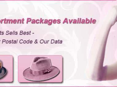 Hats Website Banners