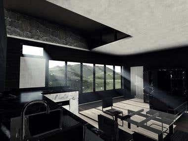 Eartship Home  (Interior)
