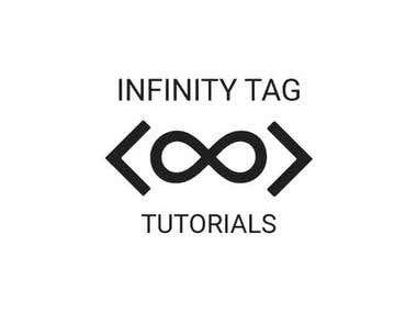 Infinity Tag Tutorials Logo