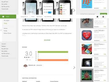 Android Mobile App for Health Check Up