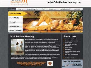 Orbit Radiant Heating