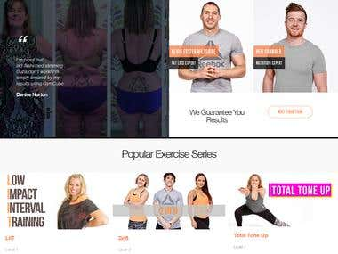 PHP Website For GYM
