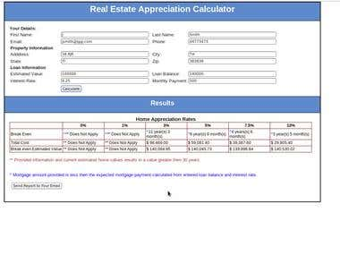 Real-estate Break Even Calculator