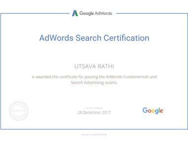 AdWord Certified Professional