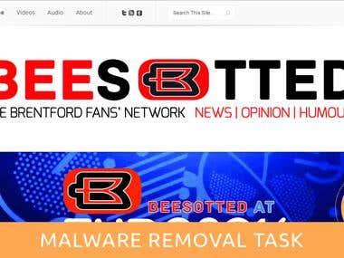 Malware Removal Task
