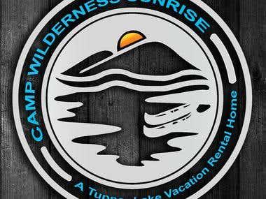 Camp Wilderness Sunrise Logo   ( A Tupper Lake Rental Home )