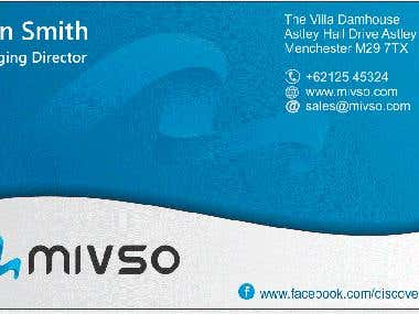 Mivso Business Card