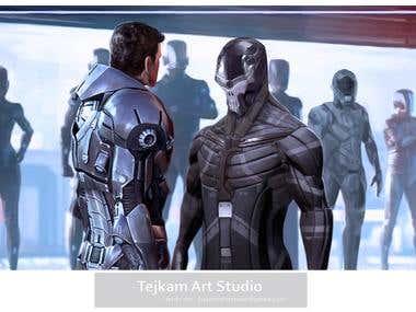 Sci - fi concept art