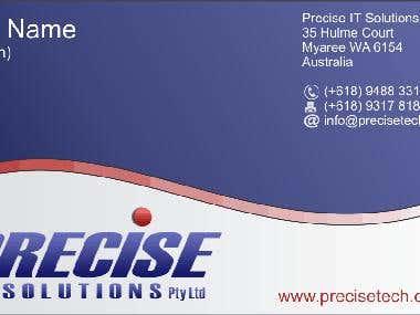 Precise Business Card