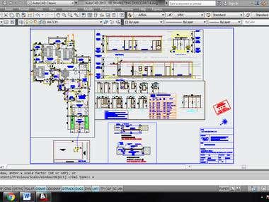 2d and AutoCAD work