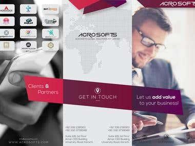Acro Tri-Fold Brochure